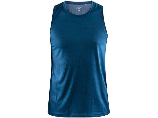 Craft Eaze Koszulka do biegania bez rękawów Mężczyźni niebieski